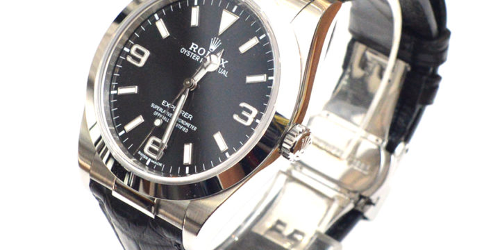 ロレックス 時計ベルト(ROLEX)の革ベルト交換