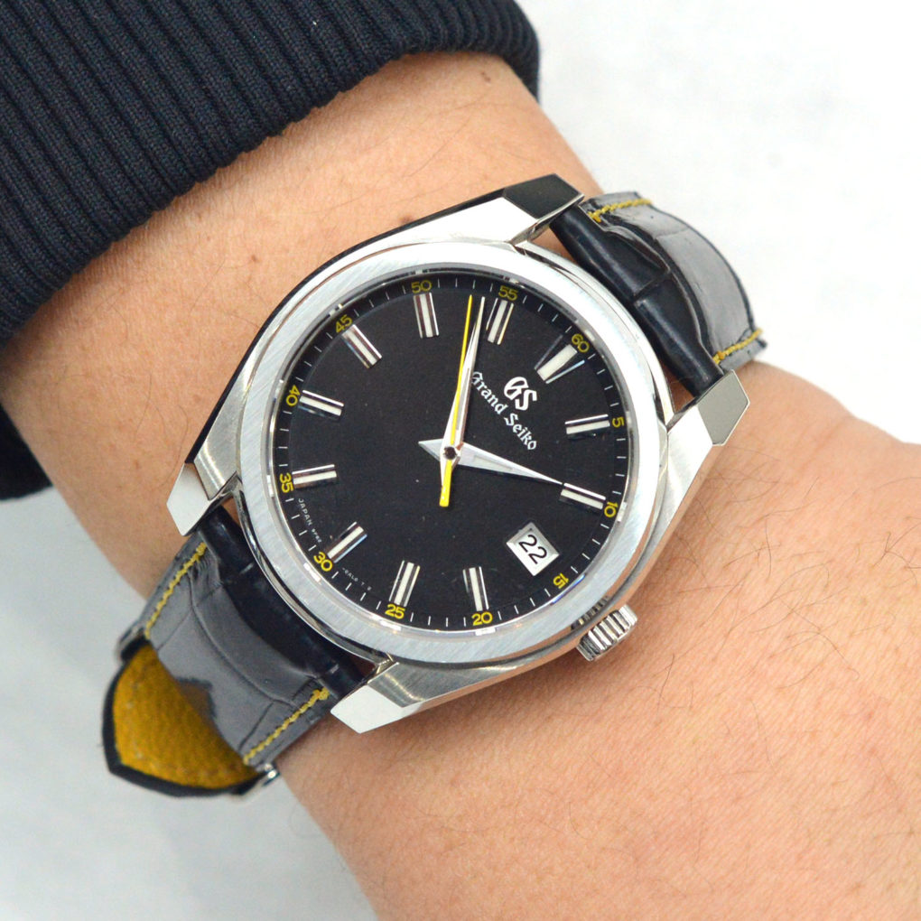 SEIKO Grand Seiko(セイコー グランドセイコー) 素材:クロコダイル カラー:マット/黒 時計ベルトオーダー