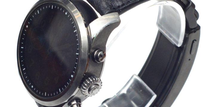 スマートウォッチ wena 3 leather & モンブラン SUMMIT 時計ベルトオーダー
