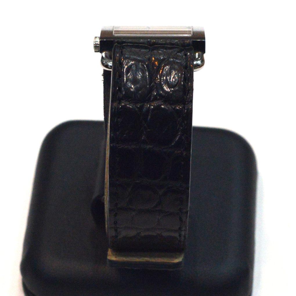 HERMES バレニア(エルメス バレニア) 素材:クロコダイル カラー:マット/黒 時計ベルト