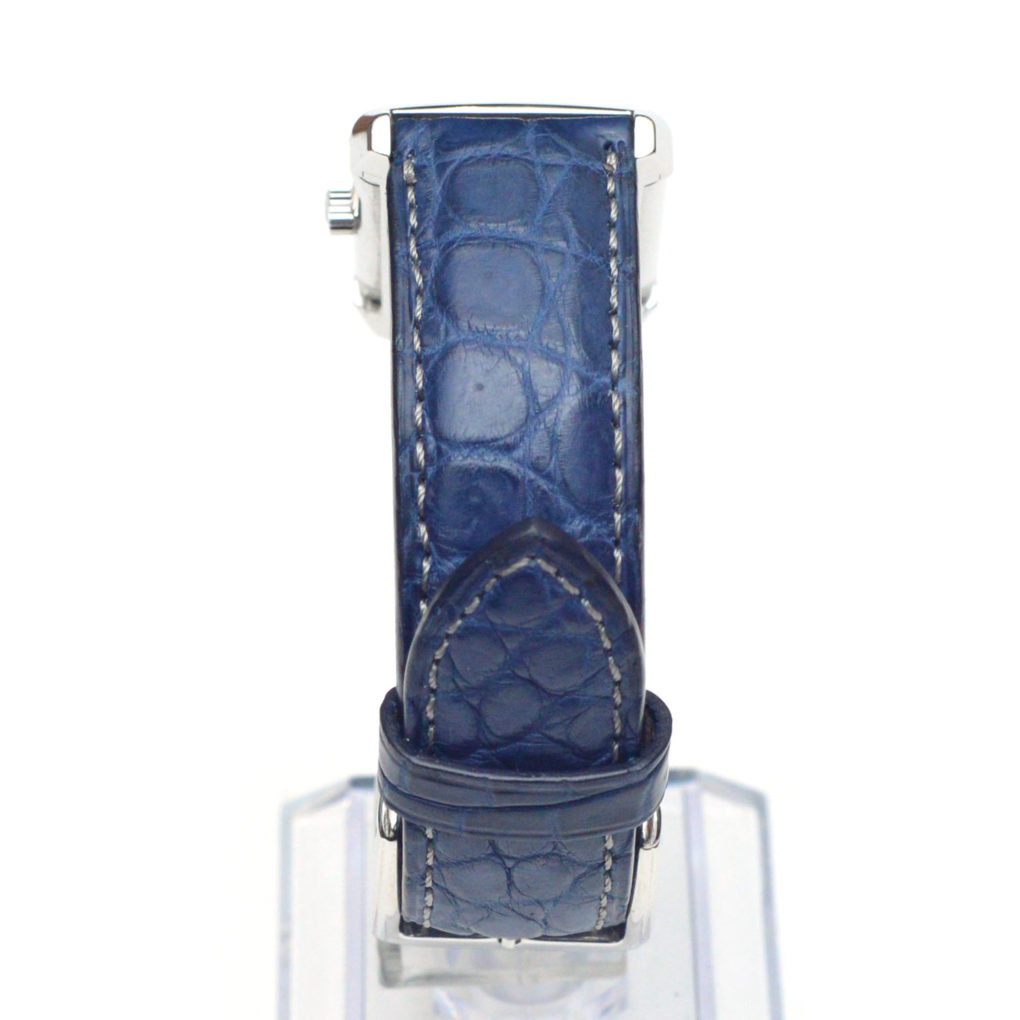 JAEGER-LECOULTRE Reverso (ジャガー・ルクルト レベルソ) 素材:クロコダイル カラー:マット/ロイヤルブルー